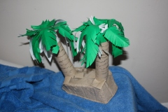 Kitchen roll palm trees