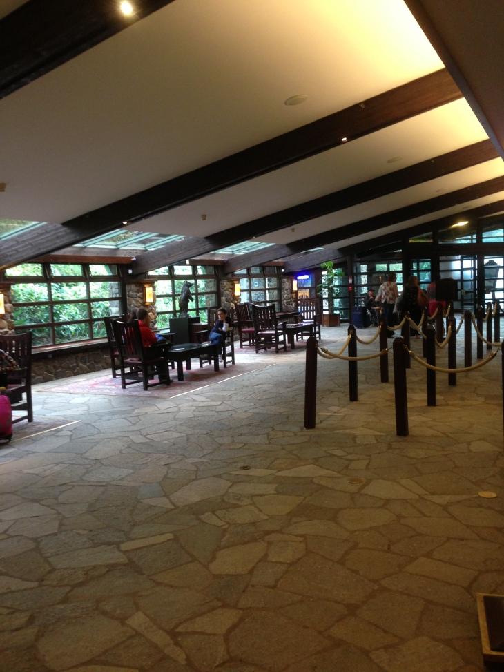 Sequoia Lodge reception