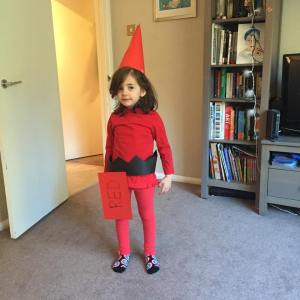 R as Red Crayon