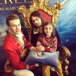 Ramona, the Prince and me.
