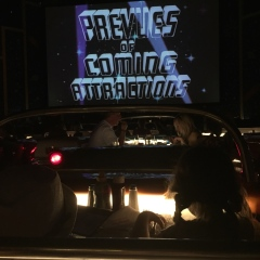 Stranded at the drive-in...
