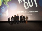 Jonas Rivera, Pete Docter, John Ratzenberger and Amy Poehler!