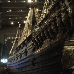 Vasa. No pictures - and certainly none from an amateur's iPhone - can do this vast beauty justice.