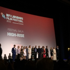 Not even quite all of the massive ensemble cast of High-Rise.
