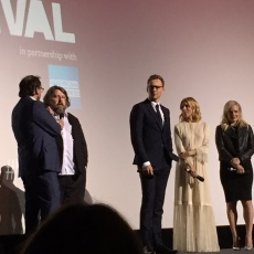 Ben Wheatley, Tom Hiddleston, Sienna Miller and Elizabeth Moss field questions after the screening.