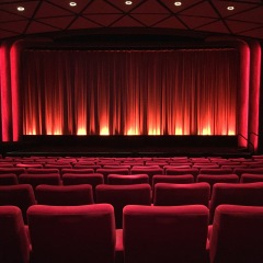 One of the stunning screening rooms (NFT1, I believe) that Ramona adored.