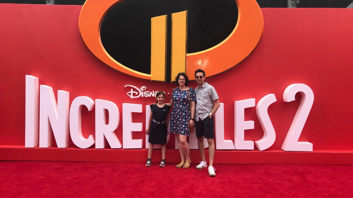 Incredibles 2 UK premiere red carpet