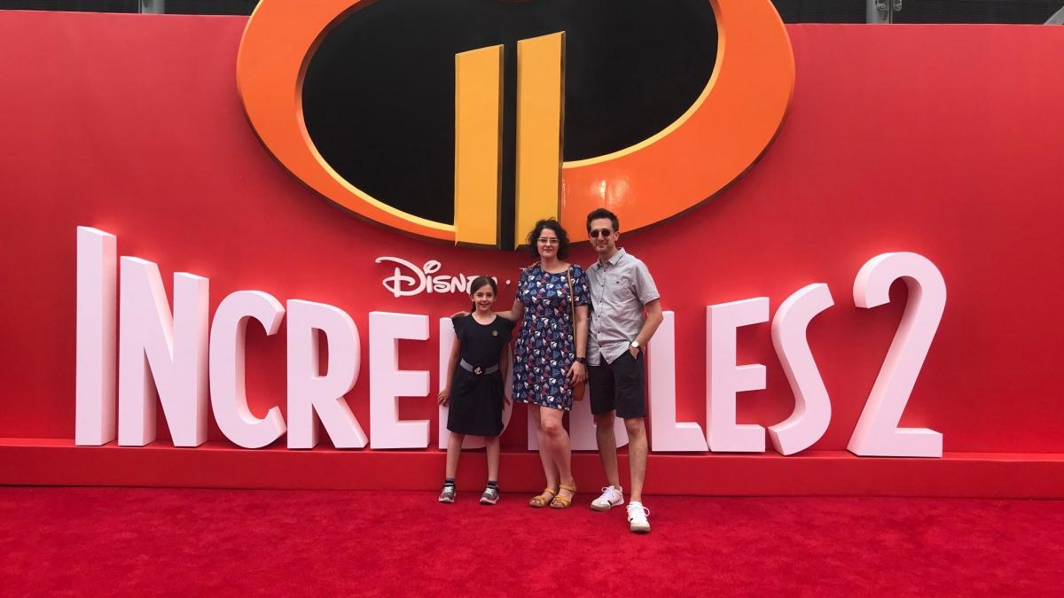 Incredibles 2 UK premiere red carpet